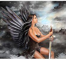 """Black Angel"" Photographic Print"