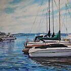 Lake Union Marina by HDPotwin
