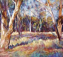 Trees at Dysart by Lynda Robinson