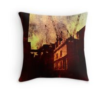 If You're Not Careful (This City Will Devour You) Throw Pillow