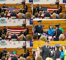 The Folding of the American Flag  by barnsis