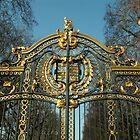Buckingham Palace Gates by Alice McMahon