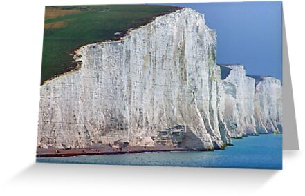 How High ! The Seven Sisters - HDR by Colin J Williams Photography