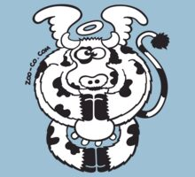 Mystic Cow, bless our daily milk! Kids Clothes