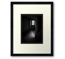 Chateau Steps Framed Print