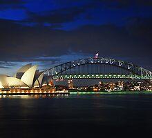 Sydney by Night by Nadean Brennan