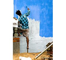 The Blueing  Photographic Print