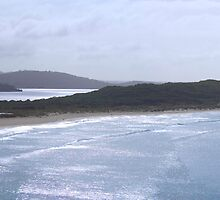 Ocean Beach at the Mouth of Wilson Inlet by pennyswork