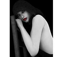 Secretive Lust Photographic Print