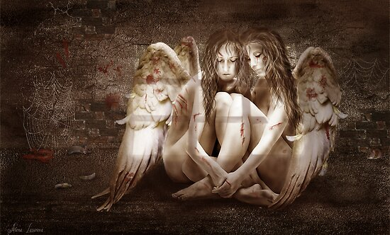 Angels by Alena Lazareva