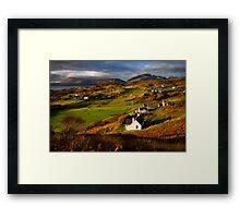 Tarskavaig in November. Isle of Skye. Scotland. Framed Print