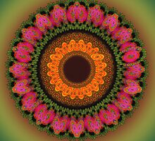 The floral mandala by CanDuCreations