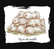 Pig in the middle by LisaPope