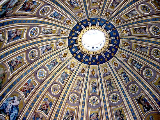 St Peter&#x27;s dome, Vatican City by Jeanne Horak-Druiff