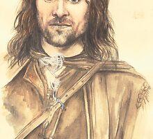 Aragorn by morgansartworld