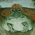 Curly Frog by Ella Meky