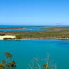 Lakes Entrance Victoria Australia Panorama by DavidIori