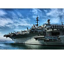 USS Midway Photographic Print