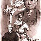 funagshi shotokan calendar by Alleycatsgarden