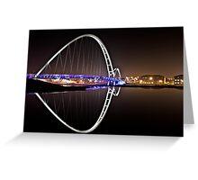 Infinity Bridge - Stockton Greeting Card