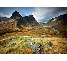 Scotland : Shadow of Glencoe Photographic Print