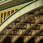Southwark Bridge, London by James  Monk