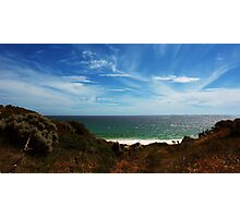 Land, sea and skyscape Photographic Print
