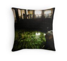 Plunge Pool, Roman Baths Throw Pillow