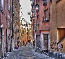 alleys of Genoa by oreundici