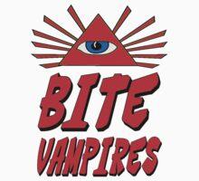 I Bite Vampires by gleekgirl