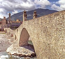Hunchback Bridge - Bobbio - Italy by paolo1955