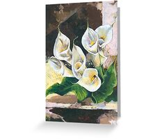 Callas - One of my Favorite Flowers Greeting Card