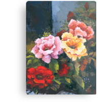Roses - Just Stop and Smell their Perfume... Metal Print