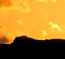The Lake District: Langdales in Silhouette by Rob Parsons