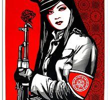 Peace Guard Lg by Pamela Smith