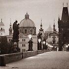Prague Sunrise by Nadean Brennan