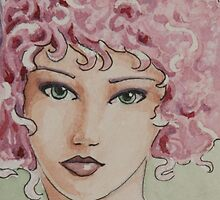 Curly Pink! by Jaymilina