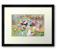 Washing Framed Print