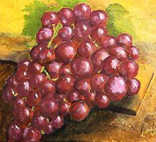 Grapes by Gitta Brewster