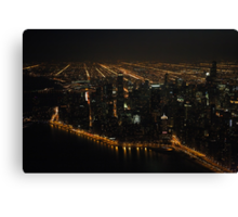 The Grand View - Aerial Photography Canvas Print