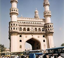 char minar  Hyderabad   India  1999 by taariqhassan