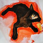 The Black Cat (where's my tail?) by Emma Brooks