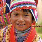 Peruvian boy by Konstantinos Arvanitopoulos