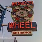 The Wonder Wheel Entrance  by SylviaS