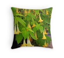 Lovely yellow flowers Throw Pillow