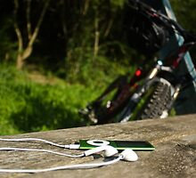 iPod & Bike by JM-Photography
