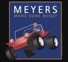 Dune Buggy Meyers Manx Jump  T-Shirt
