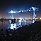 Teesside Transporter Bridge by David Lewins LRPS