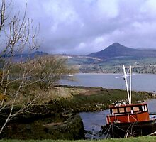 Berthed, Isle Of Arran, Scotland by MagsWilliamson