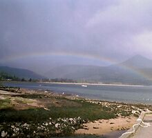 Rainbow, Isle of Arran, Scotland by MagsWilliamson